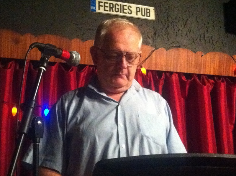 Reading Poetry at Fergie's Pub